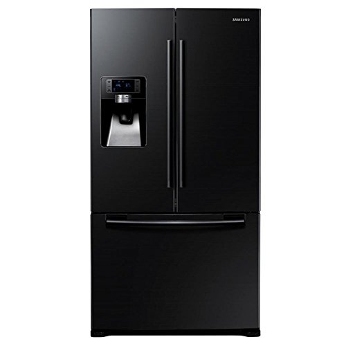 Samsung RFG23UEBP Side-by-Side French Door, Schwarz, A+, 520 Liter